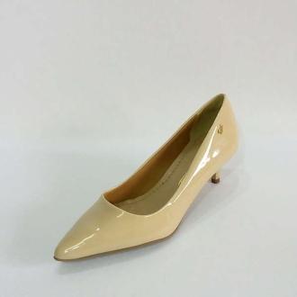 81d007d0ec Sapato Scarpin Salto Baixo Nude Rm 77131301